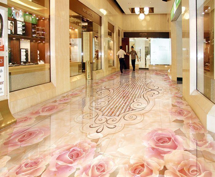 3D flower textur art 414 Floor WallPaper Murals Wall Print Decal 5D AJ WALLPAPER