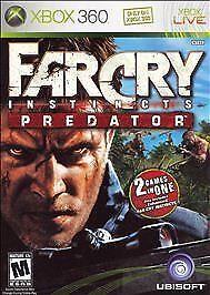 Far Cry Instincts Predator Microsoft Xbox 360 2006 For Sale Online Ebay