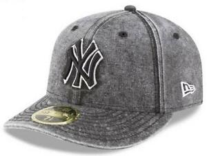 Official MLB New York Yankees Bro Cap New Era 59FIFTY Low Profile ... d505e7bf45d