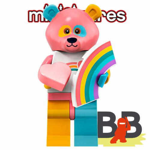 Rainbow Care Bear LEGO® Minifigures 71025 Serie 19 No 15