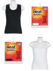 Ladies-Heat-Holders-Thermal-underwear-Sleeveless-Vest-Top-Seamless-Body