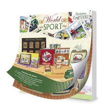 Hunkydory Craft Pile-un mondo dello sport-STACK 004