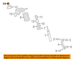 AUDI-OEM-15-18-A3-Front-Suspension-Top-Nut-N10106402