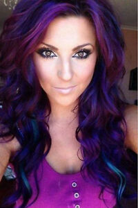 Tintes para cabello color morado