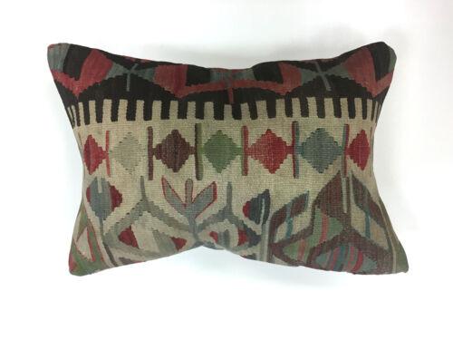 Turkish Moroccan Kilim Cushion Cover Kelim Pillow 60x40 cm