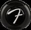 Genuine-Fender-Infinity-F-Logo-Strat-Tele-Guitar-Strap-Locks-Straplocks-BLACK miniature 4