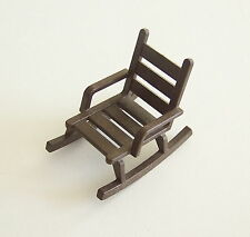 PLAYMOBIL (B4226) WESTERN - Rocking Chair Marron Foncé