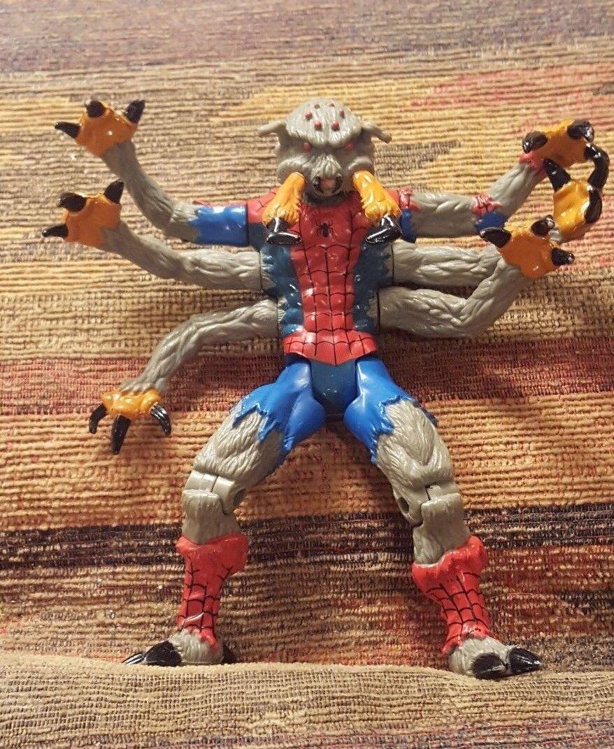 Hombre Araña-Spider Man Serie 6 anti-simbiota Techno Wars - 1995 Marvel Juguete Biz