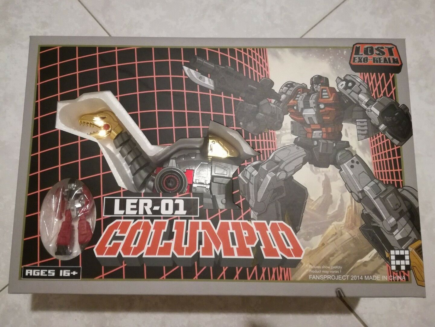 FANSPROJECT LOST EXO-REALM LER-01 Columpio  Limited edition TFCON2014 Exclusive