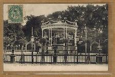Cpa Calais - le jardin Richelieu le pavillon de musique wn0148