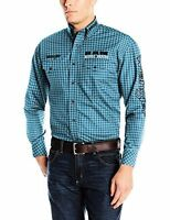 Wrangler Men's Long Sleeve Western Logo Shirt - Choose SZ/Color
