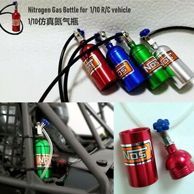 1:10 Xtra Speed Nos Nitrous Oxide Bottle Scale Accessory Crawler Cars