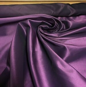 LUXURIOUS RICH PURPLE TAFFETA FABRIC  58 METRES - manchester, United Kingdom - Returns accepted Most purchases from business sellers are protected by the Consumer Contract Regulations 2013 which give you the right to cancel the purchase within 14 days after the day you receive the item. Find out more abo - manchester, United Kingdom