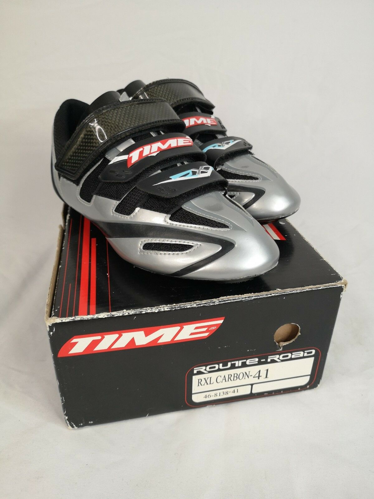 TIME RXL Carbon Women's Bike Cycling Road shoes Sz 41 US 10 Time Trial Unused