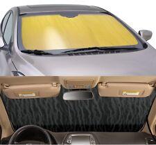 GOLD Sun Shade for windshield - CUSTOM Precision Cut - Mercury