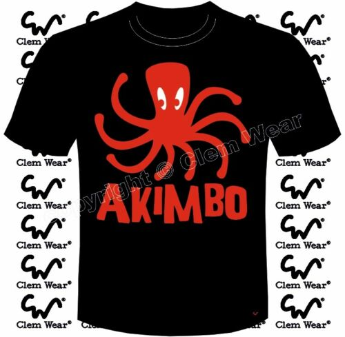 Akimbo Octopus drôle blague t-shirt homme Clem WEAR tee comédie BNWT jambes ANIMAL LEG