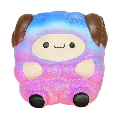 Jumbo Sheep Squishy Cute Galaxy Rainbow Alpaca Slow Rising Scented Toy Gift
