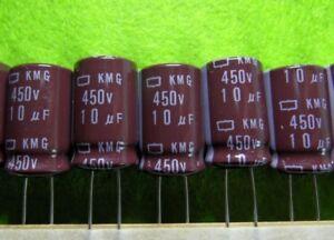 20x Elko 3,3µf//450v 105 ° C 10x15mm 3,3uf RM 5 mm