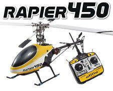 Top Gun Rapier Pro 450 Helicopter RTF 6 Channel 3D With 2.4G Radio System TGH006