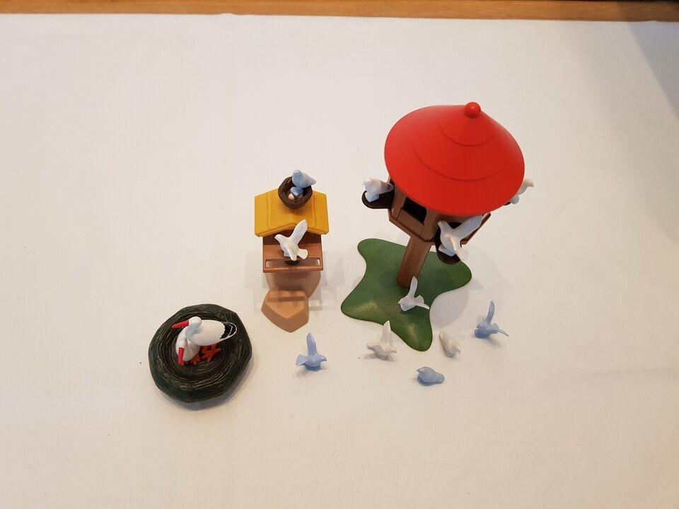 Playmobil, Playmobil Fuglehuse, Storke rede og fugle.