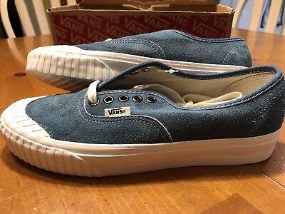Vans Suede Vintage Military Authentic 138 True Black Men Sneaker Shoe