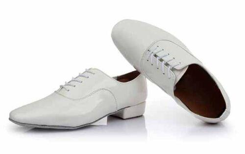 Man Boy Man/'s Ballroom Tango Latin Dance Dancing Shoes heeled Salsa 2 Color