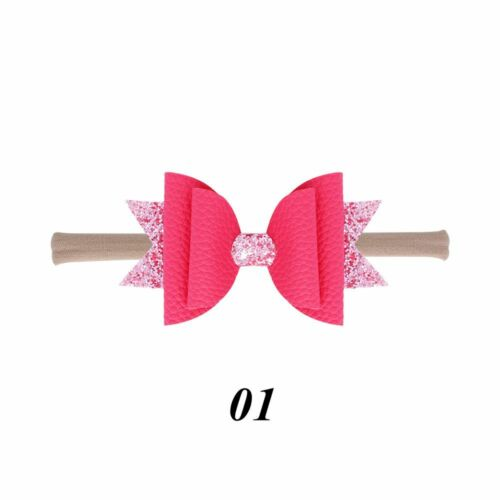 Headwear  Bowknot Clips  Nylon  Double Layer Glitter Hair Bows Sequin Hairpins