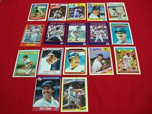 WADE-BOGGS-ODD-BALL-PREMIUM-COLLECTION-17-DIFFERENT-CARDS-MUST-SEE