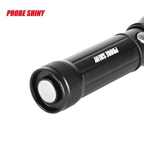 5000LM Super Bright Zoomable XM-L T6 LED Adjustable Focus Flashlight Cob Torch