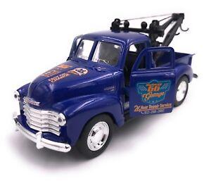 1953-Chevrolet-Tow-Truck-Modellauto-Auto-LIZENZPRODUKT-1-34-1-39-Versch-Farben