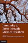 Immunity to Error through Misidentification: New Essays by Cambridge University Press (Hardback, 2012)
