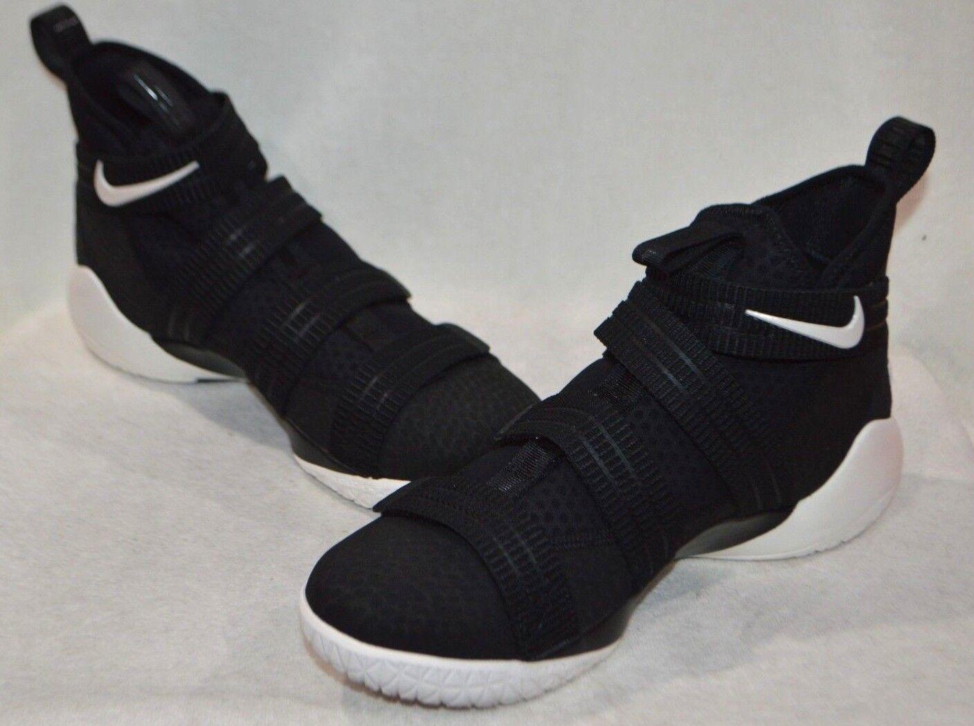 Nike LeBron Soldier XI SFG SFG SFG Nero Sail R-BLU SCARPE DA BASKET UOMO-SZ 10.5 NUOVO SENZA SCATOLA 3079aa