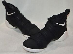 purchase cheap 74f57 e382c Image is loading Nike-LeBron-Soldier-XI-SFG-Black-Sail-R-