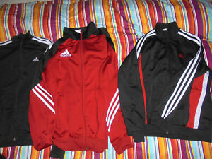 3x-vintage-90s-Adidas-Trainingsjacke-Jacke-oldschool-Jugend-youth-D164-D152-D36