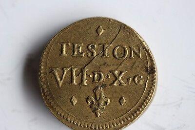 Poids monétaire LOUIS XIII LE JUSTE pour le teston (31663)