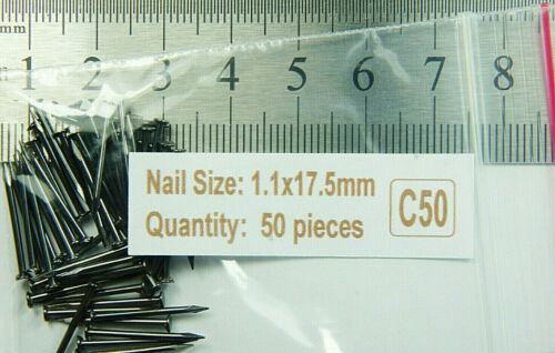 18 mm Steel Nails Small Miniature Hobby Repair Shoes Furniture Series C 17mm