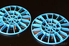 2x Wasserrad 100mm Paddelrad Wassermühle oder Rohrschutz Rohrgitter RC Modellbau