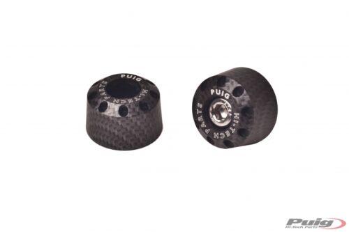 20mm PUIG Contrepoids courts en aluminium pour guidon