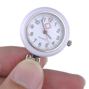 Red-Cross-Clip-On-Hanging-Nurse-Battery-Quartz-Watch-Fob-Watches-Gift-for-Friend