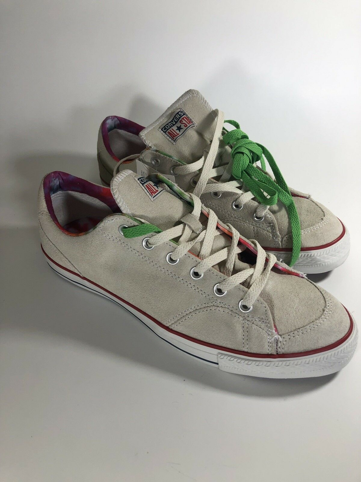 Converse Chuck Taylor All Star OX Size 11 Parchment White Low Top 136729C