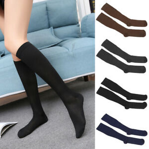Mens-Womens-Compression-Varicose-Vein-Knee-High-Nylon-Stocking-Leg-Support-Socks