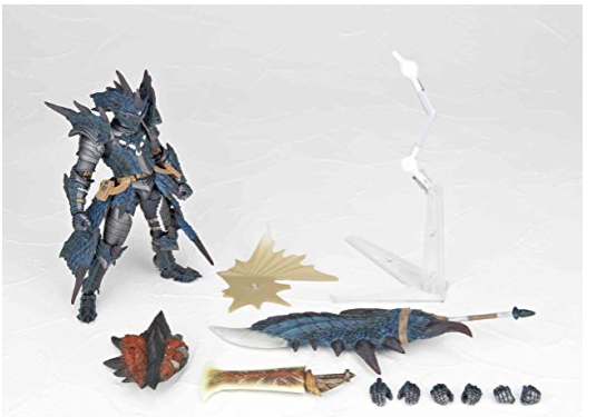 Free Shipping from Japan Authentic Revoltech 123EX Man Hunter Swordsman Rio Soul