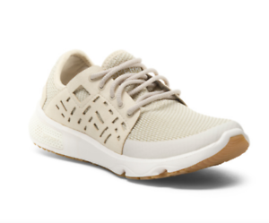 NEW SPERRY 7 SEAS SPORT SHOES ATHLETIC SNEAKERS WOMENS 12 CREAMY WHITE