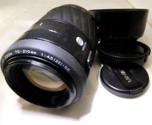 Minolta-Maxxum-70-210mm-F4-5-5-6-AF-lens-Auto-focus-Sony-A-mount-a68-a58-a37-a57
