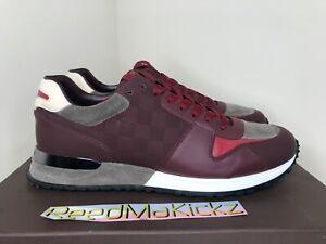 Louis Vuitton Run Away Sneaker Deep Red