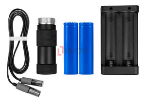 Feiyu-Tech-Akku-Kit-2x-Batterie-2200mAh-Ladegerat-f-Gimbal-G4S-G4-GS-QD-G4-Plus