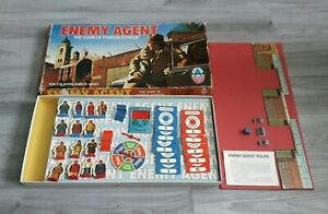 Enemy-Agent-Board-Game-1960s-Vintage-Arrow-Games-Foreign-Intrigue-Unchecked