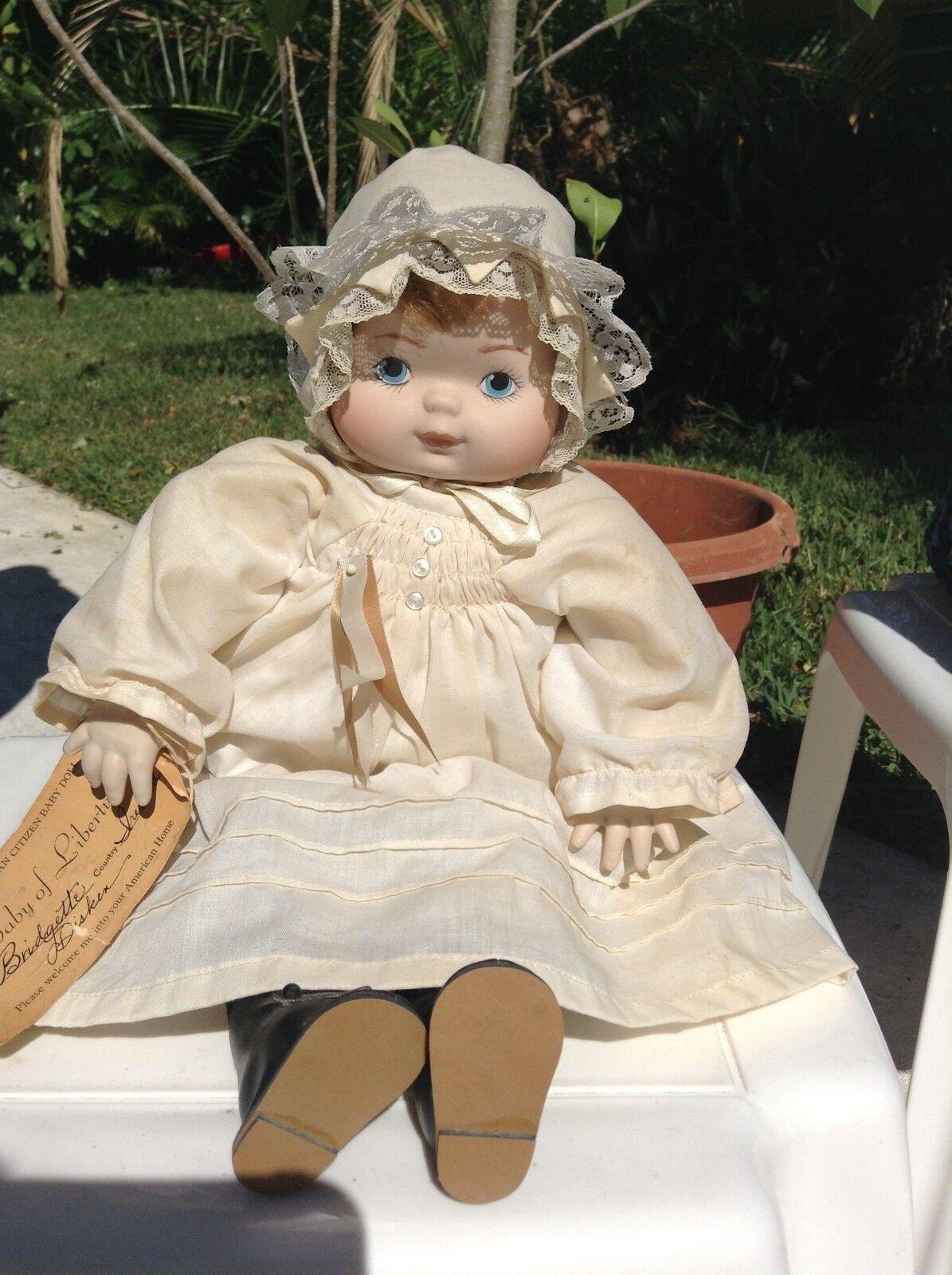 Appletown Muñeca Ltd Ed niña bebé de libertad Coleccionable retirado signo Numerada