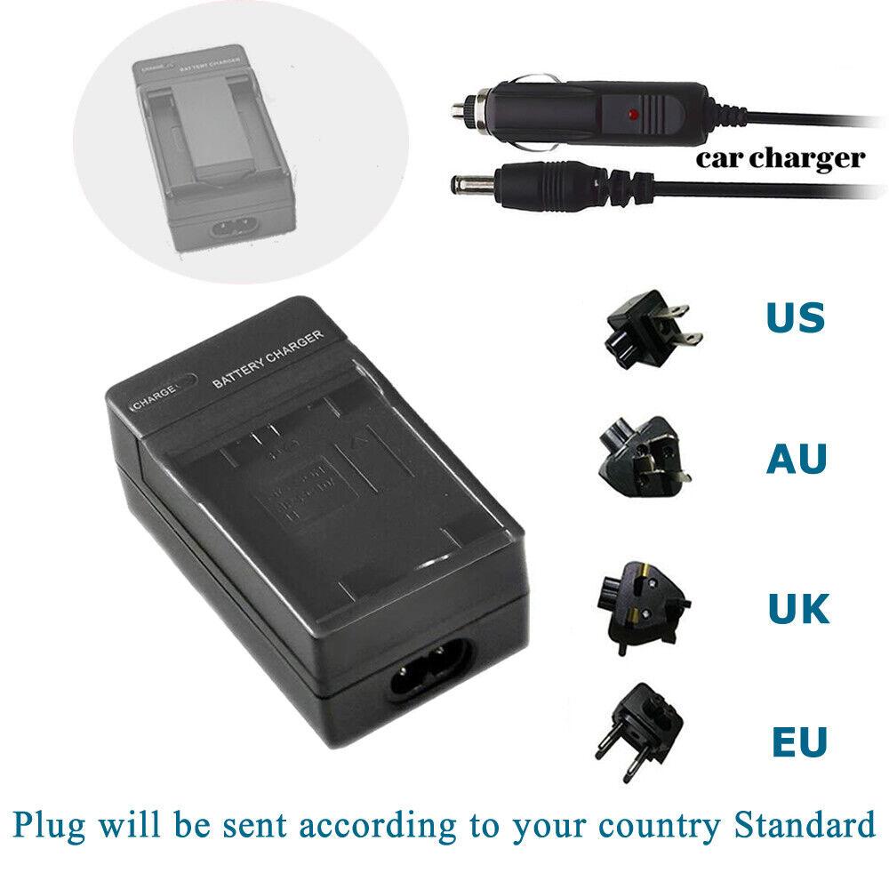 Digital Camera Battery NP-FC10 NP-FC11 Charger for Sony DSC-P9 DSC-P10 DSC-P10L