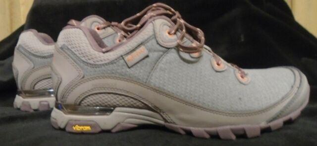 Ladies Waterproof Hiking Walking Grey and Pink Trainer Shoes Sizes 3 4 5 6 7 8
